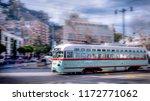 san francisco transportation   Shutterstock . vector #1172771062
