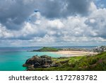 st. ives  england    june 2018  ... | Shutterstock . vector #1172783782