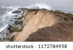 tomales bluff on an overcast... | Shutterstock . vector #1172784958