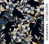 watercolor seamless pattern... | Shutterstock . vector #1172811295
