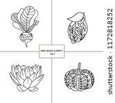 hygge logos set. eps 10  | Shutterstock .eps vector #1172818252