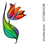 drawing vector graphics with...   Shutterstock .eps vector #1172863138