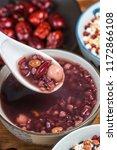 eight treasure congee on... | Shutterstock . vector #1172866108