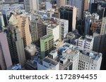 an apartement building in tsim... | Shutterstock . vector #1172894455