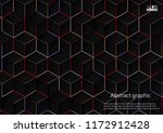 abstract background with... | Shutterstock .eps vector #1172912428