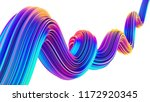 liquid design twisted shape in... | Shutterstock . vector #1172920345