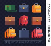 backpack  bag  suitcase  carry... | Shutterstock .eps vector #1172949022
