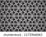 flower geometric pattern.... | Shutterstock .eps vector #1172966062