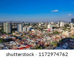 panoramic afternoon view of the ...   Shutterstock . vector #1172974762