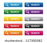 search buttons. vector... | Shutterstock . vector #117300382