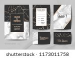 wedding invitation cards... | Shutterstock .eps vector #1173011758