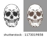 vector illustration of human... | Shutterstock .eps vector #1173019858