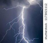 lightnings and thunder bold... | Shutterstock . vector #1173021112