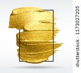 colorful brushstroke. wite... | Shutterstock .eps vector #1173027205