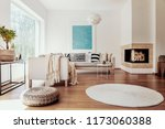 beige and white textiles and a... | Shutterstock . vector #1173060388
