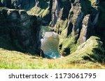 close up fjadrargljufur canyon... | Shutterstock . vector #1173061795