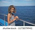 cruise on the ship by the... | Shutterstock . vector #1173079942