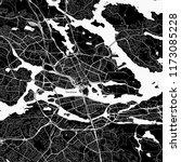area map of stockholm  sweden.... | Shutterstock .eps vector #1173085228