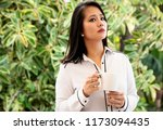 portrait of a young ... | Shutterstock . vector #1173094435