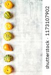 colorful pumpkins image of... | Shutterstock . vector #1173107902