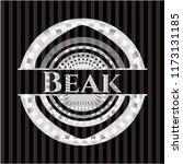 beak silver emblem   Shutterstock .eps vector #1173131185