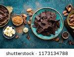 Chocolate. Dark Bitter...