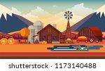 flat illustration of... | Shutterstock .eps vector #1173140488