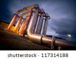 pipeline bridge | Shutterstock . vector #117314188