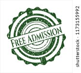 green free admission rubber... | Shutterstock .eps vector #1173155992