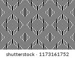 seamless pattern with striped... | Shutterstock .eps vector #1173161752