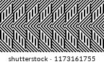 seamless pattern with striped... | Shutterstock .eps vector #1173161755
