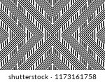 seamless pattern with striped... | Shutterstock .eps vector #1173161758