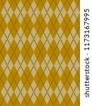 seamless knitted pattern with...   Shutterstock .eps vector #1173167995