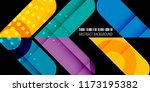 abstract colorful background... | Shutterstock .eps vector #1173195382