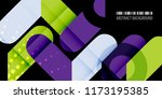 abstract colorful background... | Shutterstock .eps vector #1173195385