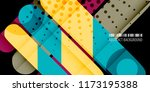 abstract colorful background... | Shutterstock .eps vector #1173195388