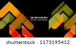 abstract colorful background... | Shutterstock .eps vector #1173195412