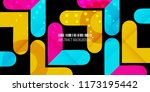 abstract colorful background... | Shutterstock .eps vector #1173195442