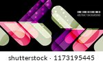 abstract colorful background... | Shutterstock .eps vector #1173195445