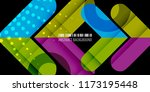 abstract colorful background... | Shutterstock .eps vector #1173195448