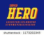 comics style font design ... | Shutterstock .eps vector #1173202345