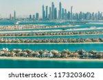 palm jumeirah  dubai  uae    Shutterstock . vector #1173203602