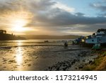 sunrise at castro in the...   Shutterstock . vector #1173214945