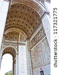 arch the triumph  paris  france. | Shutterstock . vector #117321775