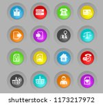 e commerce interface vector... | Shutterstock .eps vector #1173217972
