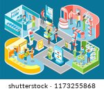modern technology and device... | Shutterstock .eps vector #1173255868