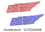 sketch tennessee  united states ... | Shutterstock .eps vector #1173262648