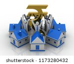 3d illustration business...   Shutterstock . vector #1173280432