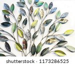 decorative ornament with... | Shutterstock . vector #1173286525