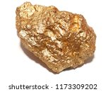 Macro Gold Ore In The Boulder ...